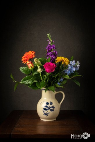 Vaas met bloemen - Workshop Still Life Photography