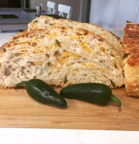 Jalapeno Cheddar Sourdough Bread Recipe