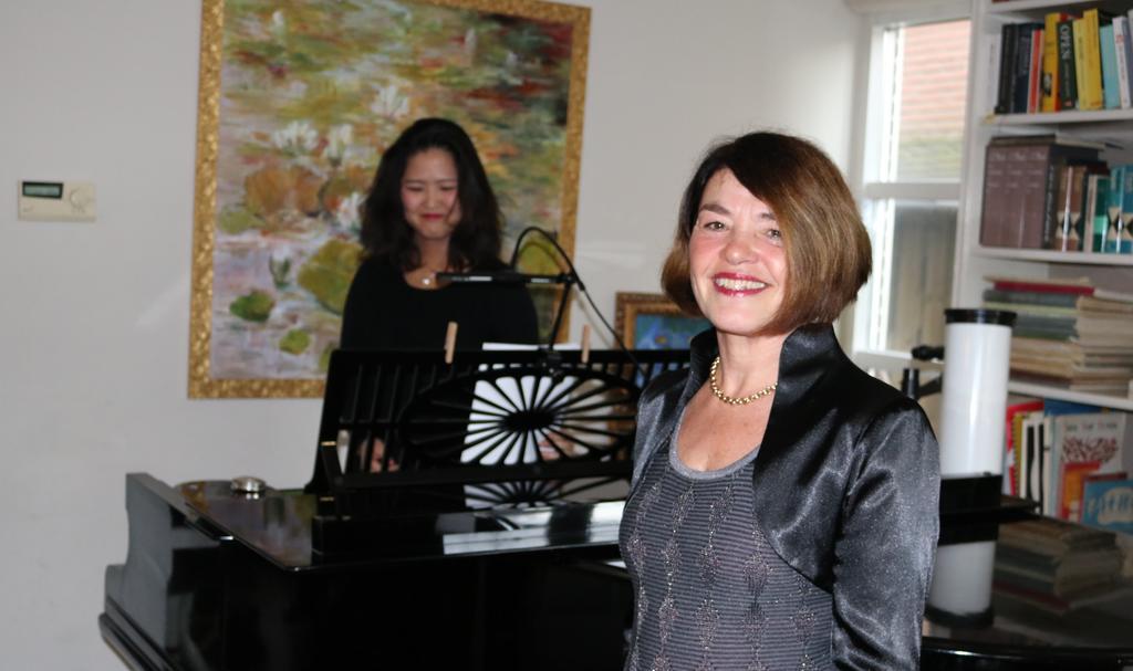 Vivienne ChuLiao en Margot Kalse