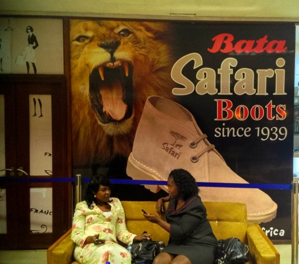 Bata Safari Boots and the 680 Hotel