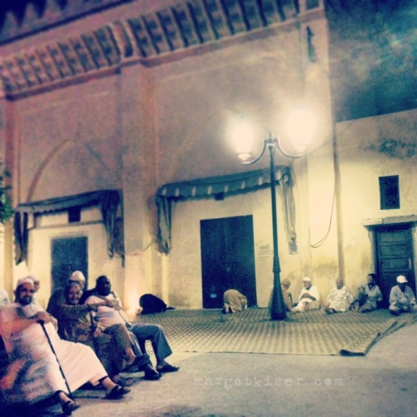 Men at the mosque