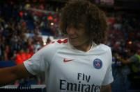 David Luiz. PSG/Metz - 21082016