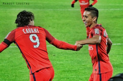 Marquinhos & Edinson Cavani FCGB/PSG - 24.01.2017