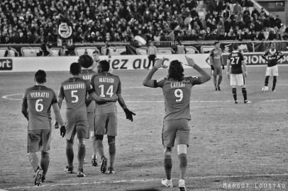 Edinson Cavani FCGB/PSG - 24.01.2017