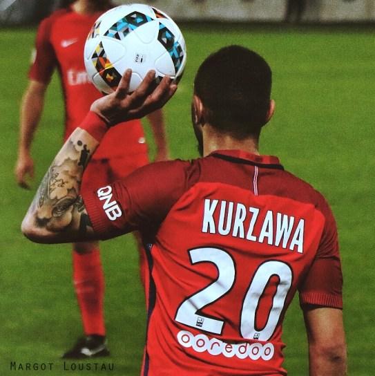 Layvin Kurzawa. FCGB/PSG – 10022017