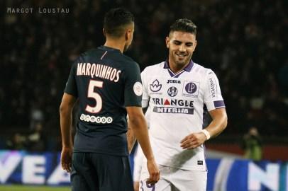 Andy Delort & Marquinhos PSG/TFC - 19022017