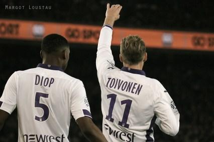 Issa Diop& Ola Toivonen PSG/TFC - 19022017