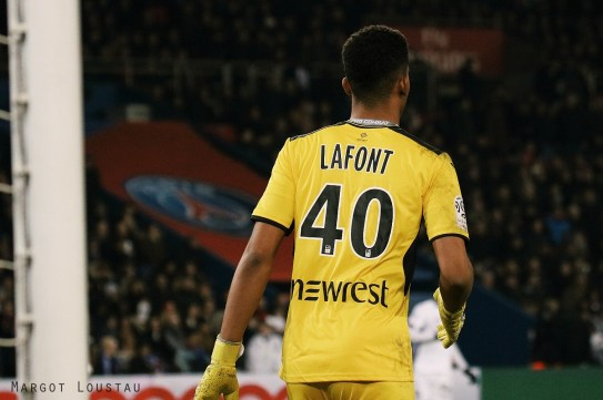 Alban Lafont PSG/TFC - 19022017