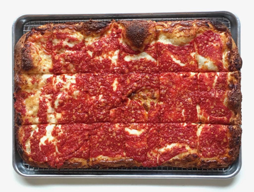 Sunday Square Sicilian pizza