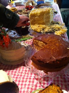 Clays and cake- what a marvellous combination!