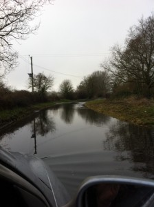 Ah....where's the road gone?