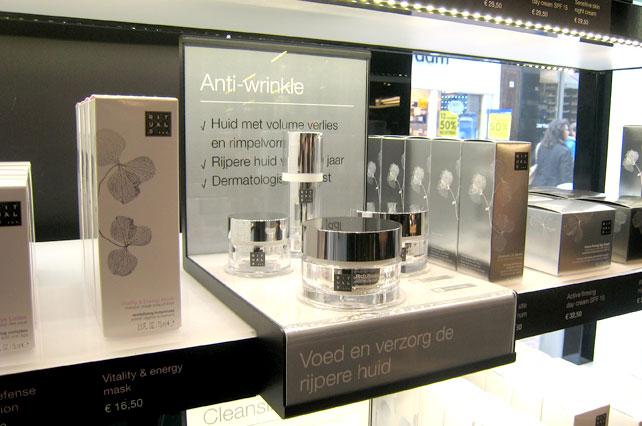 Skin Display Care Counter
