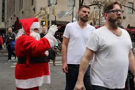 santa and tee shirts