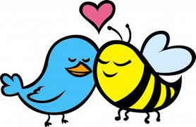 birds and bees cartoon