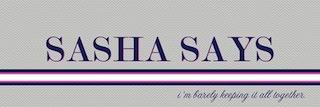 """Sasha Says"" blog cheers on Samantha"
