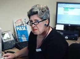 mean receptionist