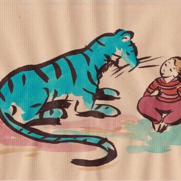 Tigre au naturel