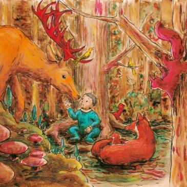 Ambroise et les animaux de la forêt
