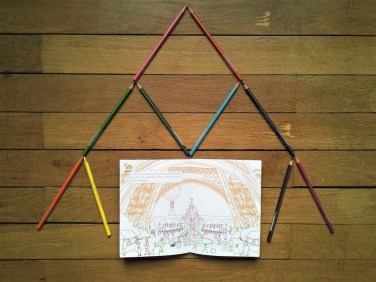 Mon carnet CONCENTRATION avec la Tour Eiffel - Cours Troubadour - Marguerite Le Bouteiller