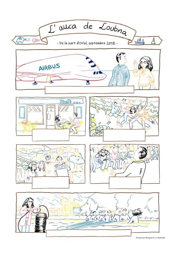 L'auca de Loubna - dessin numérique - Marguerite Le Bouteiller