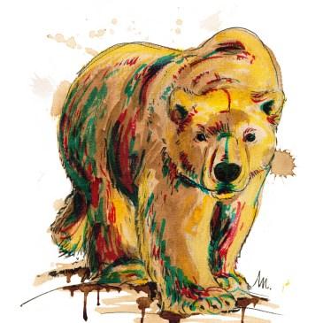 Petit bestiaire d'espèces menacées : Ours polaire