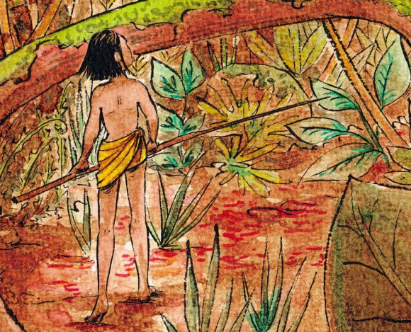 Rencontre sauvage - illustration