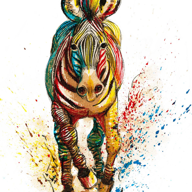 Bestiaire - ZebreGrevy - Illustration