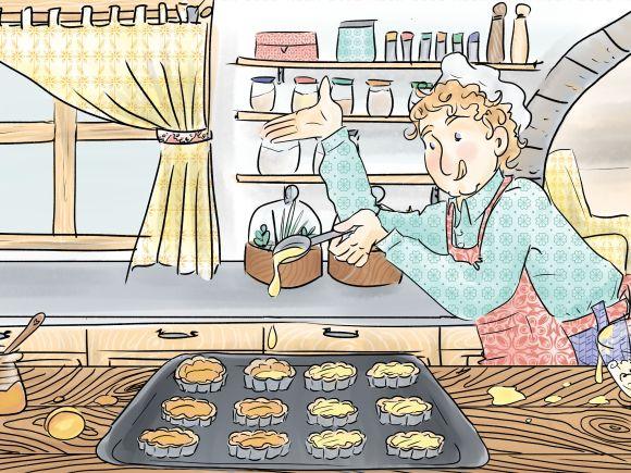 Les Tartelettes amandines 3 - Cours Troubadour - illustration