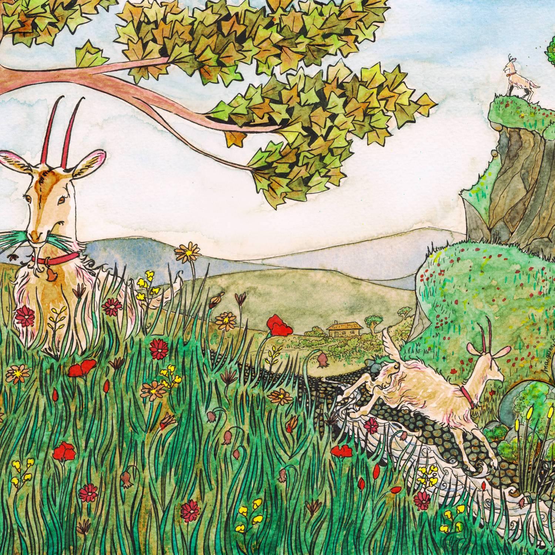 La chèvre de Monsieur Seguin - 2 - illustration