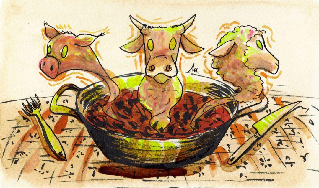 Limite 19 - Pourquoi et comment nous sommes devenus végétariens - illustration 1