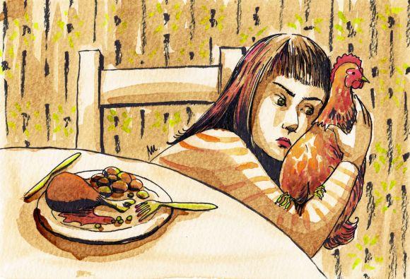 Limite 19 - Pourquoi et comment nouss sommes devenus végétariens - illustration 4