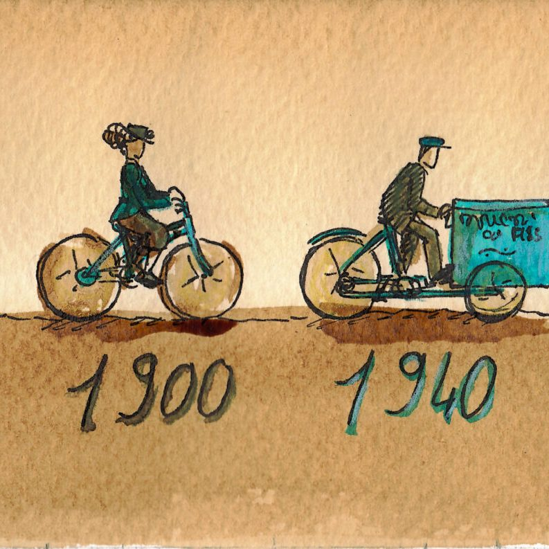 """""""Le vélo est le symbole même de la décroissance"""" - illustration 2"""