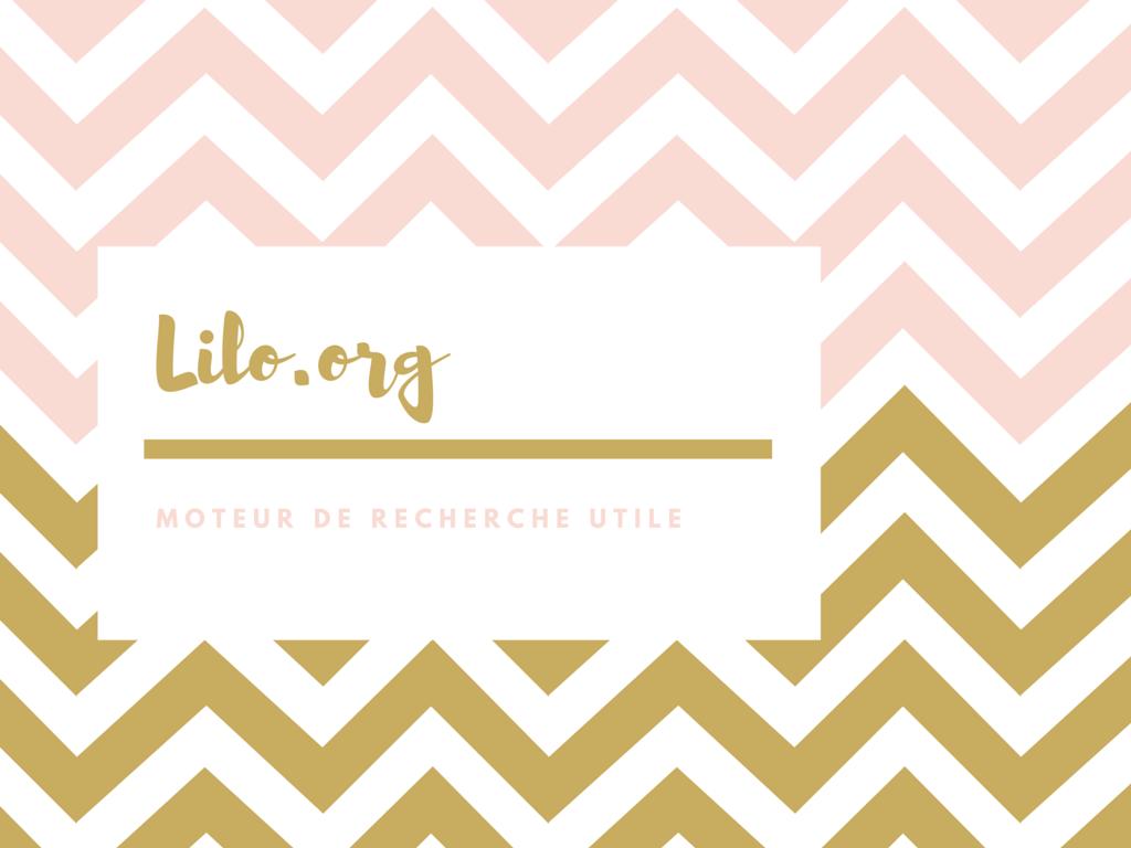 Lilo.org : le moteur de recherche solidaire
