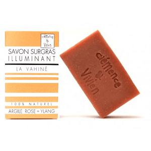 le savon surgras naturel la vahiné de clemence et vivien est disponible sur marguette.com au prix de 3.90€