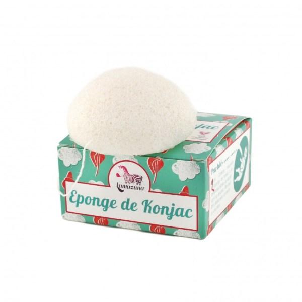 l'éponge konjac lamazuna est disponible en ligne sur marguette.com
