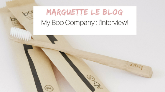 My Boo Company, brosses à dents en bambou: l'interview!