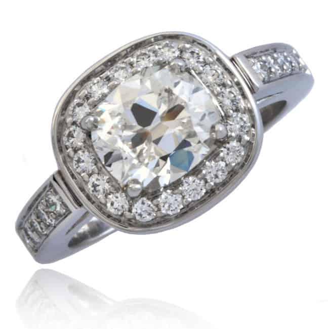 Entourage style Diamond Ring Image