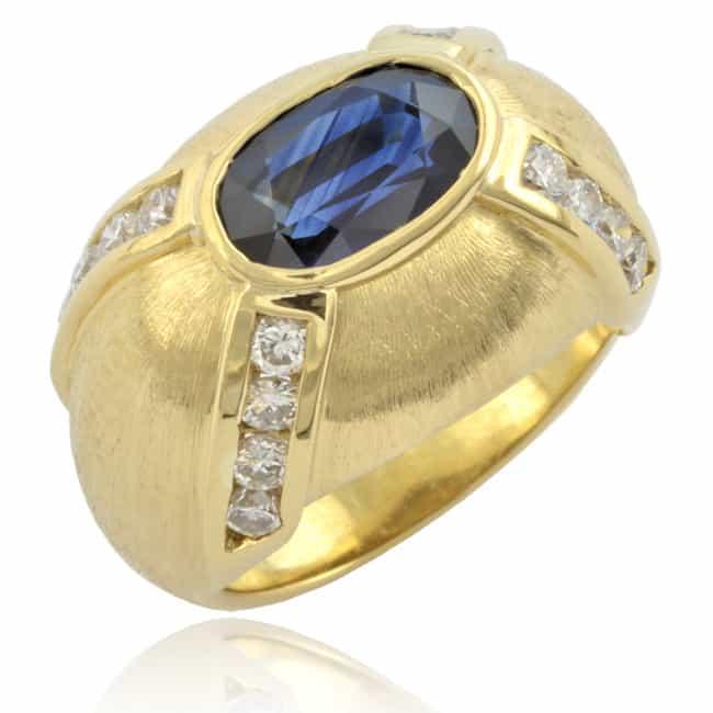 Sapphire & Diamond Ring Image