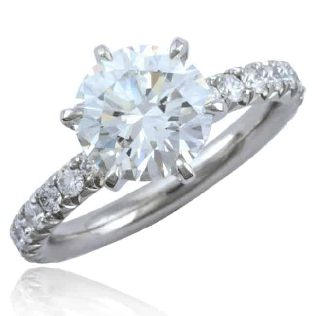 Brilliant Diamond Thread Ring Image