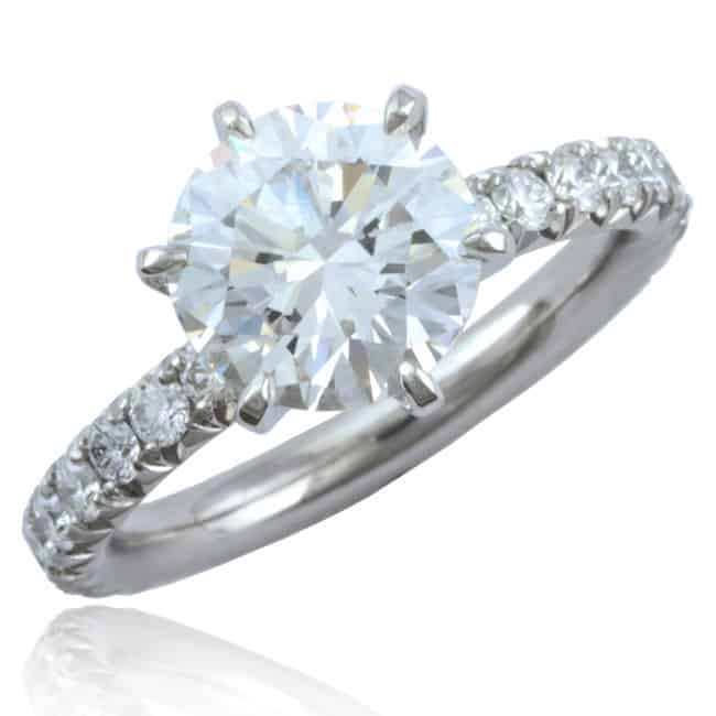 Brilliant Diamond Thread Ring Image