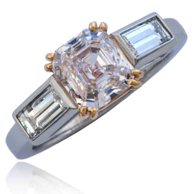 Light Pink Diamond Ring Image