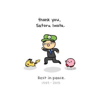 Rest in peace Satoru Iwata by Chibird