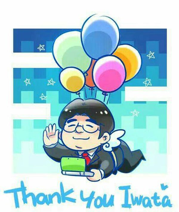 R.I.P Satoru Iwata by CasThebee123