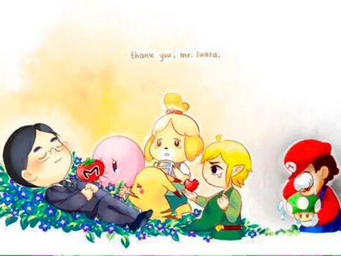 R.I.P Satoru Iwata by Cccelpro