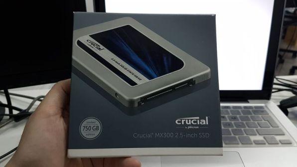 Disque dur SSD Crucial 750 Go