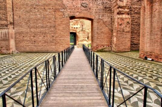 حمامات كركلّا في روما ٠٦