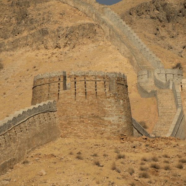 Wall of Sindh Ranikot.