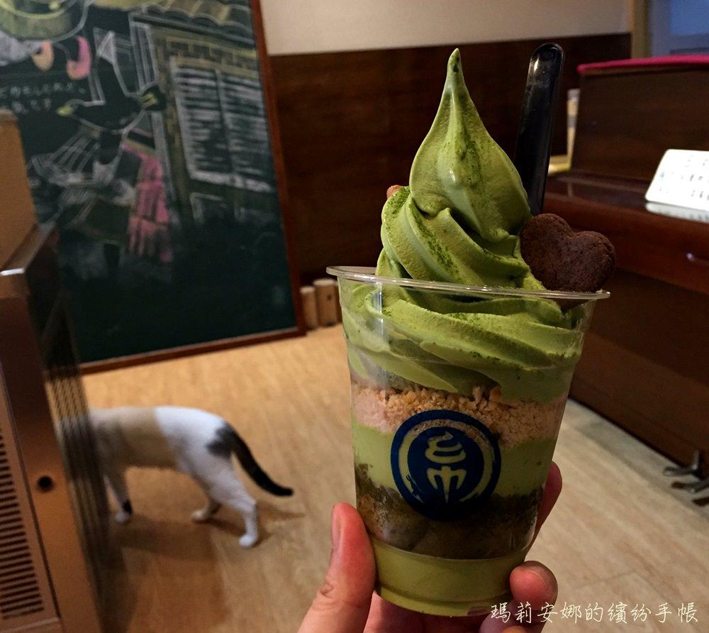 台中冰品|金帛霜淇淋-小山園抹茶提拉米蘇,不用出國就吃得到@一中商圈