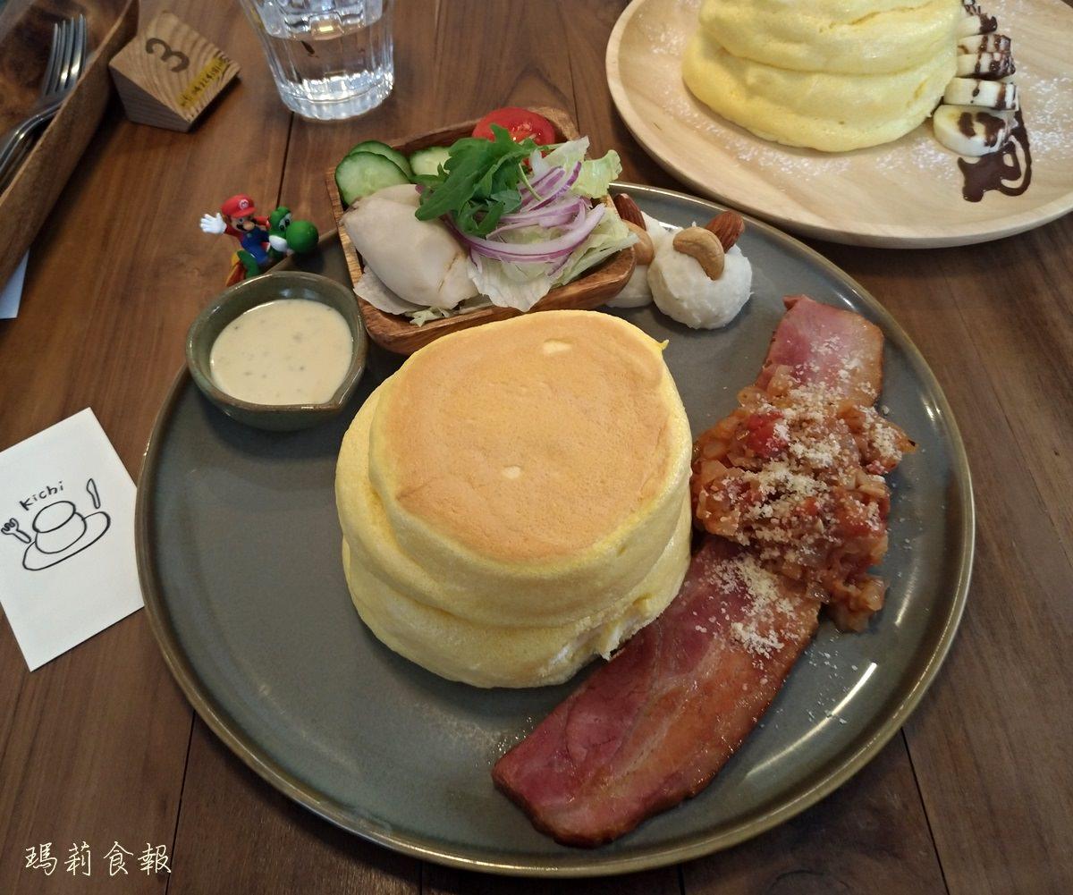 台中北屯美食|Kichipancake小巷裡的老宅厚鬆餅 寵物友善(附菜單)
