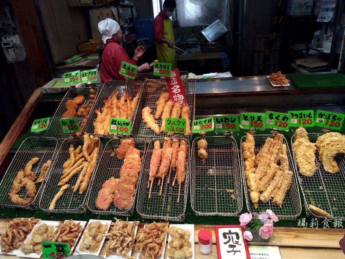 大阪日本橋美食|日進堂 天婦羅專賣店 黑門市場老店推薦